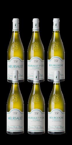 Nos vins blancs - Caisse bois